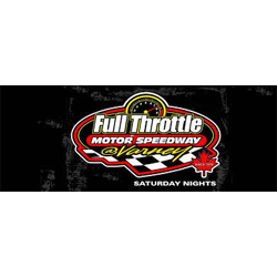 Full Throttle Motor Speedway Logo - 250 x 250