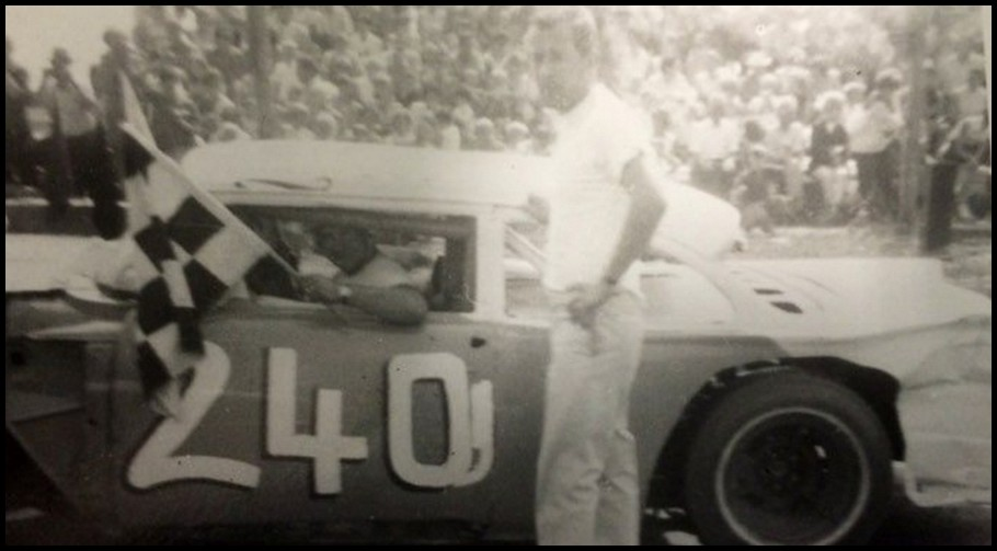 Bud Bailey at Brighton Speedway 1968. Courtesy of Jennifer and Greg Bailey