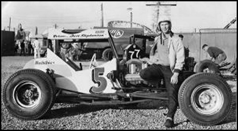 Dave Stephenson at the CNE Stadium (early '60s). Courtesy of Bill Stephenson
