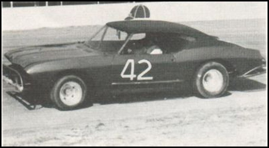 Don Hawn #42 at Pinecrest Speedway Courtesy of Hawn Motorsports