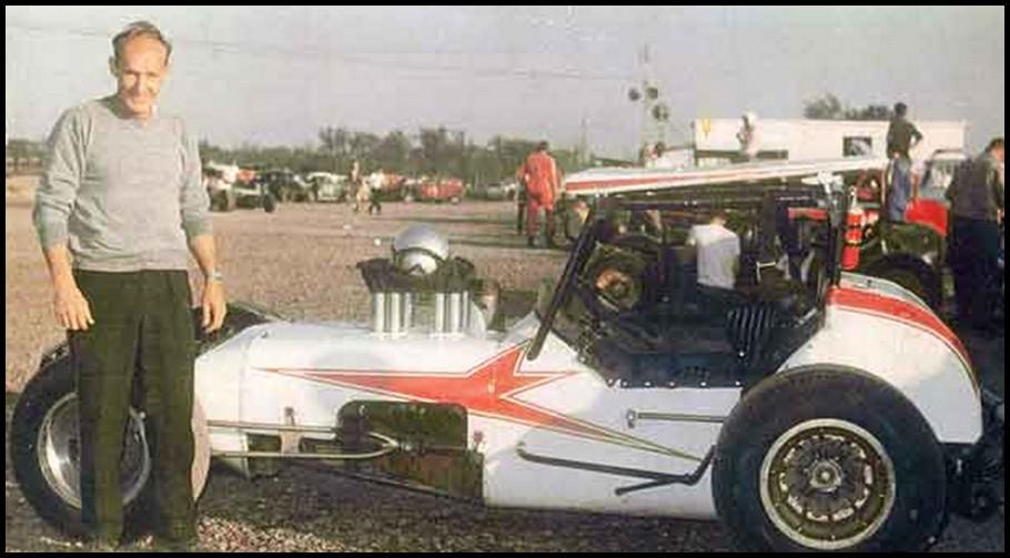 Jack Greedy at Flamboro Speedway. Courtesy of John Greedy