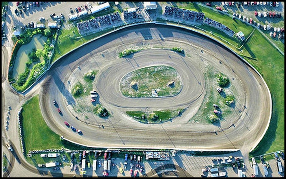 Southern Ontario Motor Speedway Aerial View