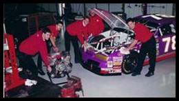 Burt McColl was with the #78 Nascar Team in 1996.