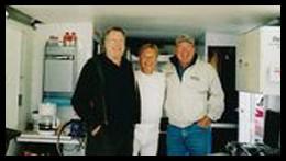 L-R Burt McColl, Rob Fletcher and Jerry Makara