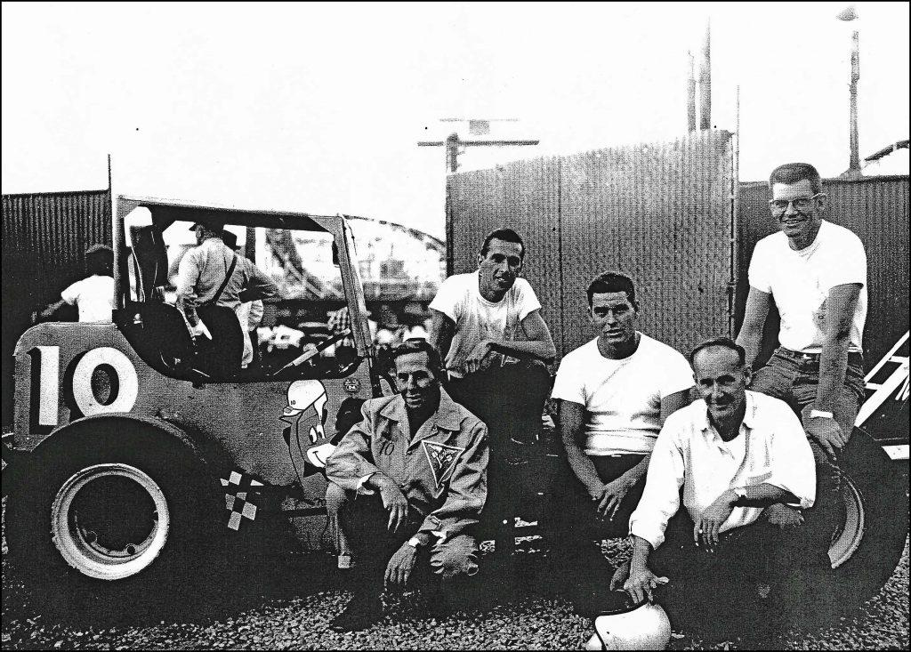 Jack and his crew at the CNE Stadium. Courtesy of John Greedy