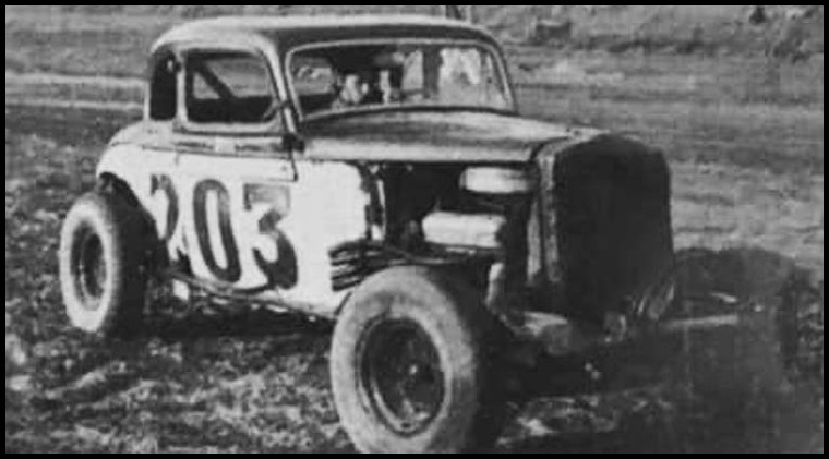 Bill Daniels #203 at Brodie's Delaware Raceway. Courtesy of Bill Daniels