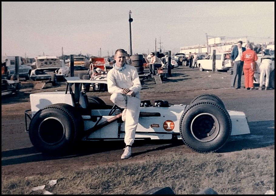 Gary Witter at Sandusky Speedway. Photo by Tex