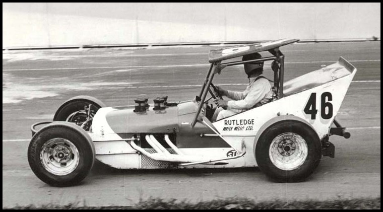 Warren Coniam in the Rutledge Rocket at Oswego Speedway. Courtesy of Warren Coniam-3