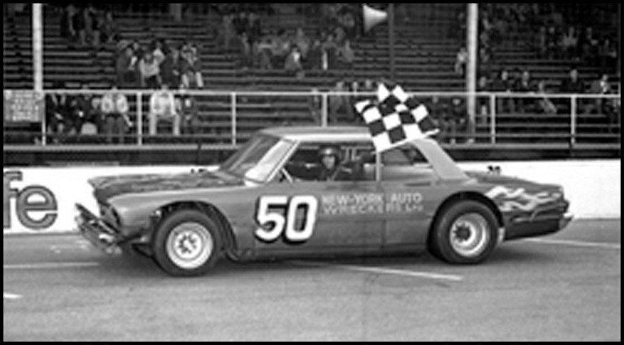 Tommy Cuzzilla Sr. #50 at Pinecrest Speedway. Courtesy of Brian Norton